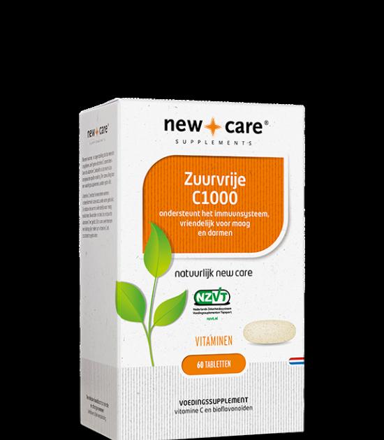 new_care_zuurvrije_c1000_60_tabletten