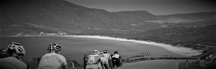 Giro Sardegna, met Stef de Bont